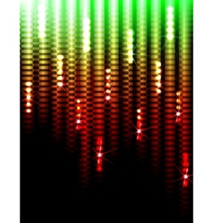 Disco lights background vector