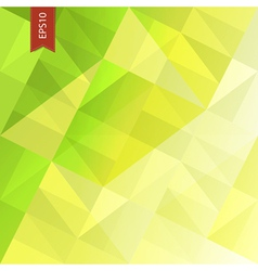 Green triangles abstract background eps10 vector