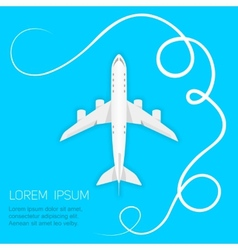 Background airlines vector