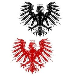 Royal heraldic eage vector