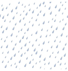 Rain seamless background vector