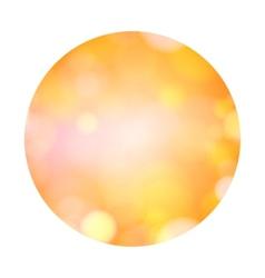 Abstract light bokeh vector