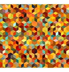 Seamless triangle abstract background vector