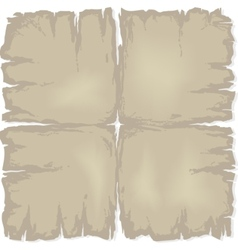 Old damaged paper vector