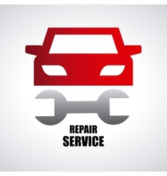 Car repair service vector