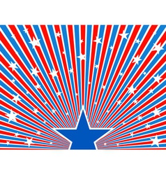 July 4th background vector