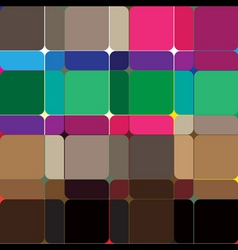 Square abstract pattern vector