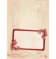 Wallpaper frame vector