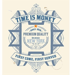 Premium quality insignia baroque ornaments and flo vector