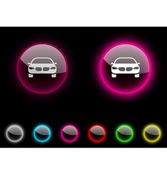 Car button vector