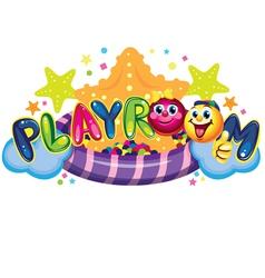 Playroom vector