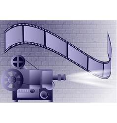 Old projector vector