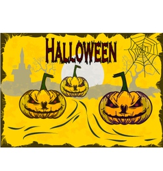 Halloween holiday that everyone is waiting for and vector