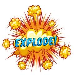 Explode vector