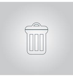 Urn icon vector
