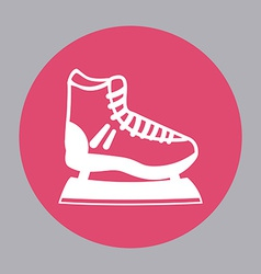 Skate design vector