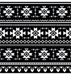 Tribal aztec seamless pattern print vector