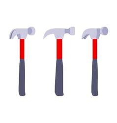Standing hammers vector