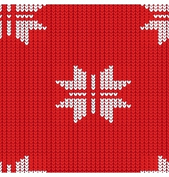 Knitting pattern vector