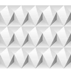 White rhombus concept seamless texture vector