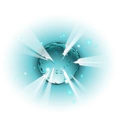 Exploding star vector
