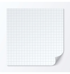 Cell page sheet sheet of graph paper grid texture vector