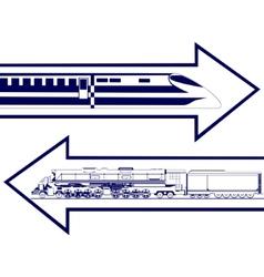 Railway transport vector