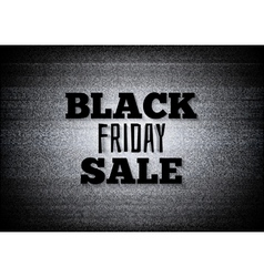 Tv commercial black friday sale vector