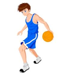 Basket ball player vector