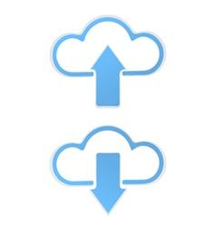 Cloud data upload vector