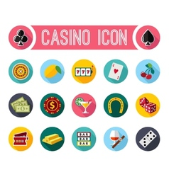 Slot machine symbols set vector