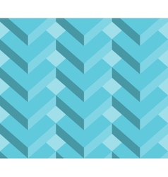 Abstract 3d geometric seamless pattern background vector