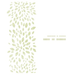 Green leaves explosion textile texture vertical vector