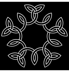 A flower-like knot vector