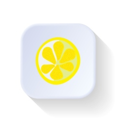 Lemon fruit vector
