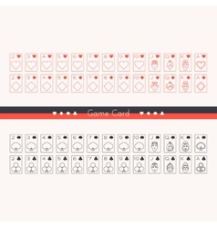 Game card vector