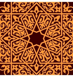 Arabic and islamic seamless ornament vector
