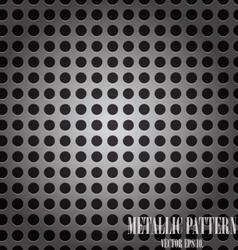 Abstract metallic vector