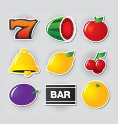 Slot symbols vector