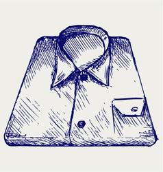 Stack shirt vector