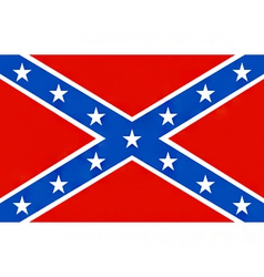 American confederate flag vector