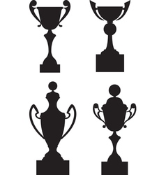 Cup awards vector