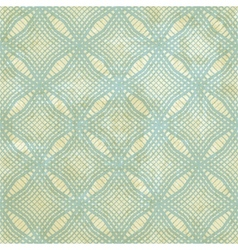 Vintage background with seamless geometric pattern vector