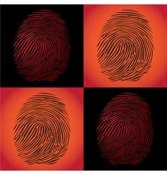 Fingerprints vector