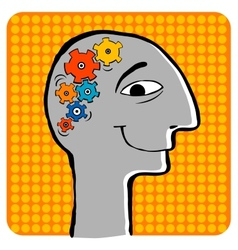 Creative thoughts vector