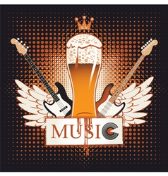 Live music vector