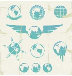 Retro emblems vector