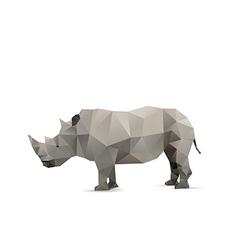 Rhino isolated vector