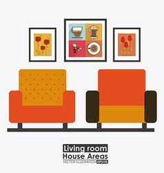Furniture design vector
