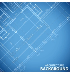 Best building plan background vector